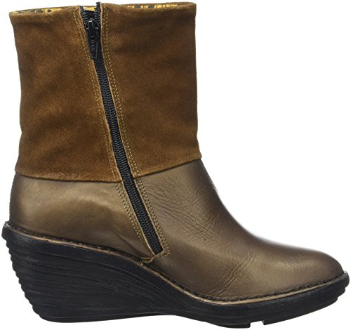 London Femme Fly Bottes Marron Sina671fly ZqxWBdpwR