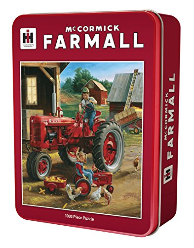 MasterPieces Farmall Farmall Friends 1000 Piece Tin Box Jigsaw Puzzle by Charles Freitag