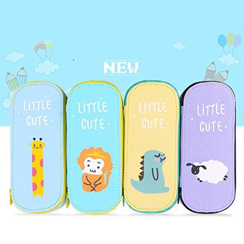 katoot @ Cute Animals–Estuche escolar de lona para Grils kawaii gran capacidad lápiz bolsa Papelería Bolsa...