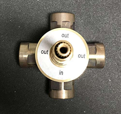 Mico Designs 4120 4-Port In Wall Diverter Valve Only - 4120