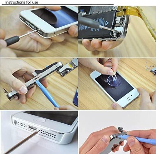 MOBILEACCESSORIES TENGLIN 10 in 1 Professional Mobile Phone//Tablet PC Disassembly Rods Repairing Tools Set