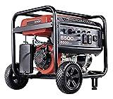 Predator Portable Generator 6500 Peak/5500 Running Watts And Generator Wheel Kit