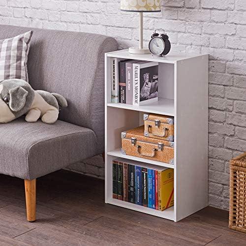 Frama Heavy Duty DIY 3-Tier Bookcase Premium Laminated Ultra Thick Particle Board Storage Shelf