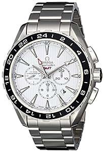 Omega Men's 231.10.44.52.04.001 Seamaster Aqua Terrra Stainless Steel Watch