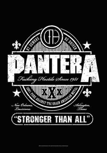 LPG International Pantera Beer Label Fabric Poster Print, 30 by 40-Inch