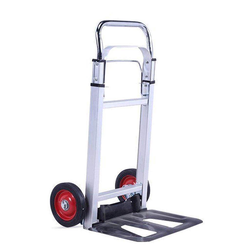 Carretilla YYF Trolley Mute Carrito de Equipaje de Aleación de Aluminio Van Small Cart