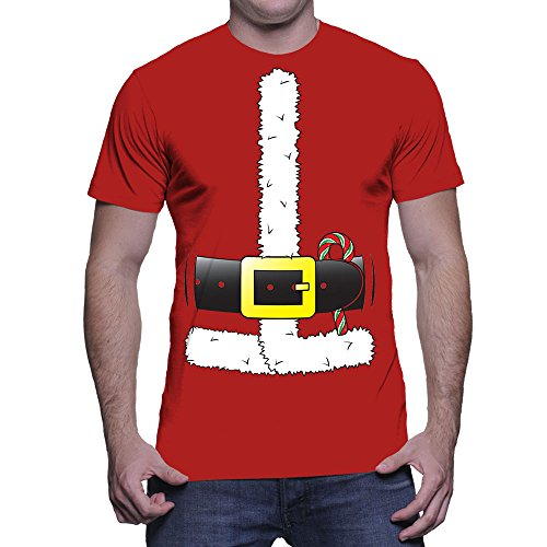 Mens Santa Claus Costume T shirt