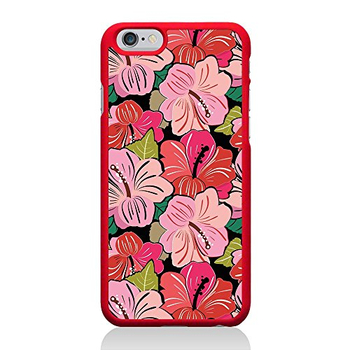 Call Candy Coque pour Apple iPhone 6/6S Fleurs Funky–Rouge