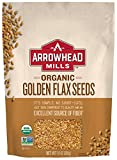 Arrowhead Mills Organic Golden Flax Seeds, 14 oz. (Pack of 6)