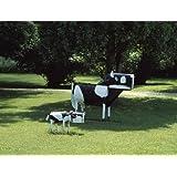 HistoricalFindings Photo: Photo of Wooden Cow & Calf Mailboxes,America,Art,Carol Highsmith,1980-2006