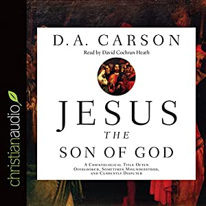 Jesus the Son of God Audiobook