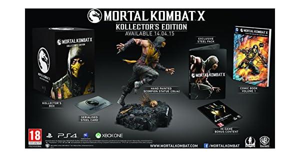 Mortal Kombat X Kollectors Edition (PC DVD) [Importación Inglesa]: Amazon.es: Videojuegos