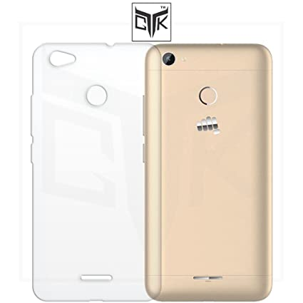 timeless design d2645 6a122 TheGiftKart™ Ultra Clear Thin Protective Soft TPU Transparent Back Cover  for Micromax Canvas Unite 4 Pro (Q465)