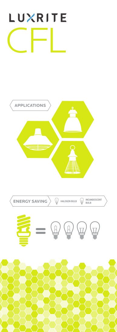 Luxrite LR20220 (12-Pack) 85-Watt High Wattage CFL Spiral Light Bulb, Equivalent To 350W Incandescent, Warm White 2700K, 5150 Lumens, E26 Standard Base by LUXRITE (Image #3)