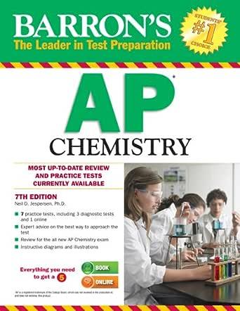 Amazon Com Barron S Ap Chemistry Ebook Jespersen Neil D Kindle Store