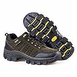 FENGDA Men's Outdoor Casual Sports Waterproof Hiking Shoes EU44 Army Green