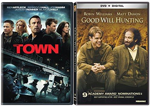 Good Will Hunting & The Town [DVD] 2 Pack Matt Damon & Ben Affleck Movie Set