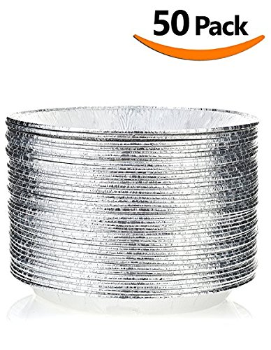 DOBI 9u2033 Pie Pans u2013 Disposable Aluminum Foil Pie Plates Standard Size u2013 9u2033 x 1.25u2033 Pack of 30  sc 1 th 255 & Cake Pans and Pie Dishes - Hand Picked by CustomCookeryOutlet