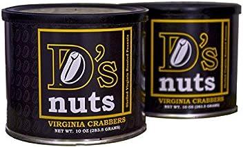 D's nuts - SXL Shelled Gourmet Virginia Crabber Peanuts - 1.25lbs