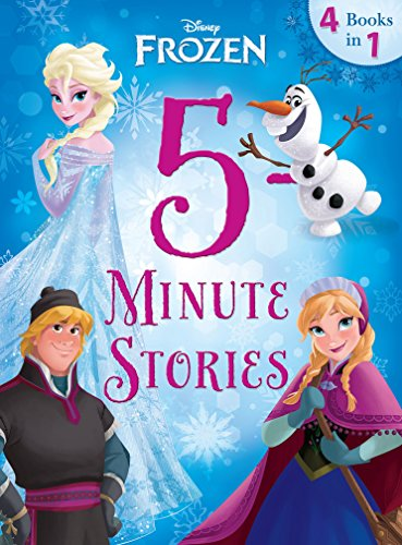 Frozen:  5-Minute Frozen Stories: 4 books in 1 (Disney Storybook -