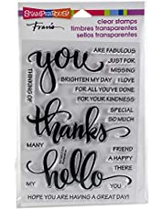 Stampendous Big Words Thanks Clear Stamp Set