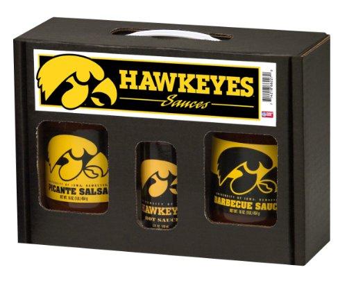 Hot Sauce Harrys 6227 IOWA Hawkeyes TailGate Hot Sauce BBQ Salsa from Hot Sauce Harry's