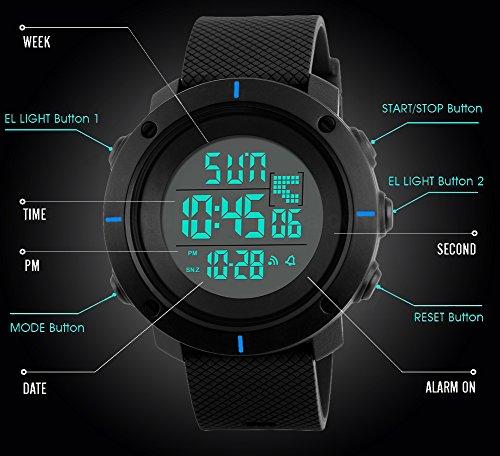 SEEWTA Часы для мальчиков Kids Digital