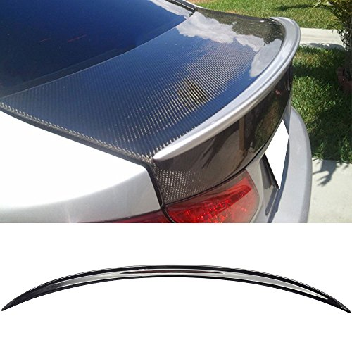 Pre-painted Trunk Spoiler Fits 2006-2013 Lexus IS250 350 ISF | Factory Style ABS Painted #202 212 Black Rear Tail Lip Deck Boot Wing Other Color Available By IKON MOTORSPORTS | ()