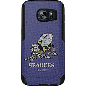 Skinit US Navy OtterBox Commuter Galaxy S7 Skin - Seabees Can Do Design - Ultra Thin, Lightweight Vinyl Decal Protection from Skinit