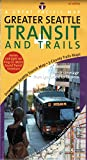 img - for Seattle Transit + Trails Map, 1st Edition book / textbook / text book