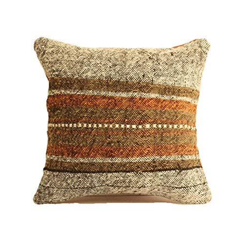 Amazon.com: Kilim Pillow 16x16 Boho Pillow Southwest