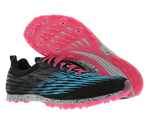 Scarpa Da Running Adidas Performance Donna Xcs 5 W Cross Country Nero / Sole Blu / Rosa Tenue