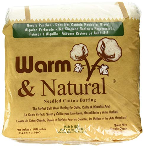 Warm Company Warm Company Warm & Natural Cotton Batting Queen Size 90