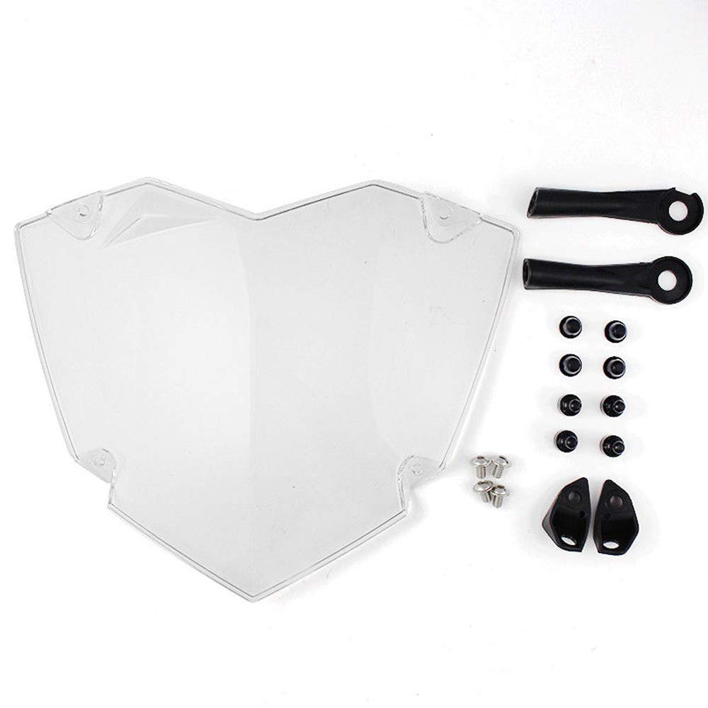 For BMW R 1200 GS Adventure Motorcycle Transparent Headlight Guard Headlight Protector For BMW R 1200 GS