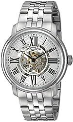 Stuhrling Original Men's 812.01 Atrium Automatic Skeleton Stainless Steel Watch