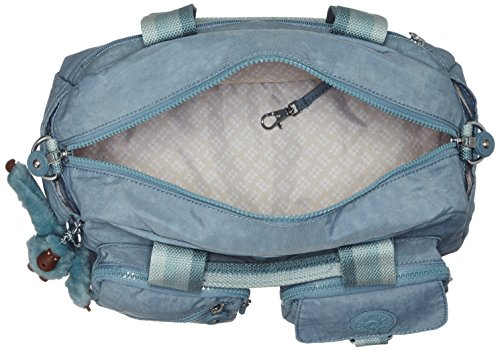 Kipling C Top Blue Pastel Defea Bag Women��s Handle Blue gEr8xgnTq4