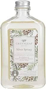 Greenleaf Reed Diffuser Oil - Silver Spruce - Last Up to 3 Months - Made in The USA