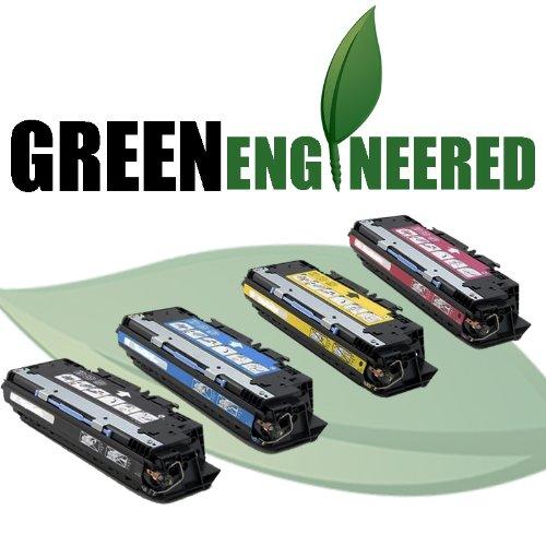 Remanufactured HP 311A Toner Cartridges - Q2681A, Q2682A, Q2683A, Q2670A Set of 4 - For HP Color LaserJet 3700, 3700DTN, 3700DN, 3700N - 1 Black, 1 Cyan, 1 Magenta, 1 Yellow Toner Cartridges