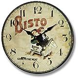 "Shabby Chic Kitchen Wall Clock - ""BISTO"" The Bisto Kids. Code 9331"