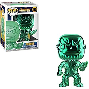 Avengers Funko POP Marvel: Infinity War – Thanos – Green Chrome – Walmart Exclusive