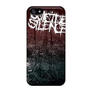 Slim Fit Tpu Protector Shock Absorbent Bumper Suicide Silence Case For Iphone 5/5s
