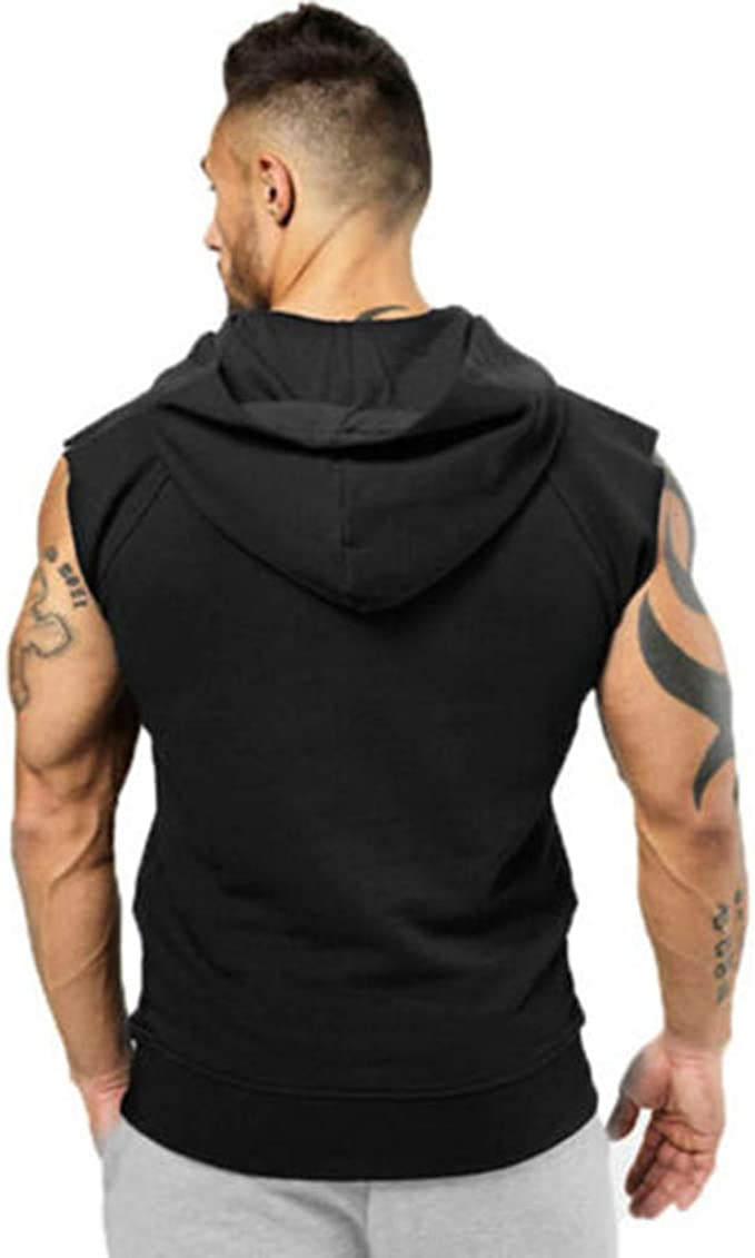 STORTO Mens Training Quick-Dry Sports Tank Top Gym Fitness Bodybuilding Running Top
