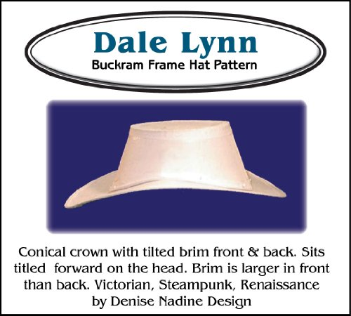 Sewing Pattern - Dale Lynn Hat Pattern - Renaissance, Victorian or Steampunk Styling -