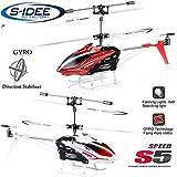 s-idee® 01164 - S5 3.5 Kanal Heli Syma Hubschrauber RC ferngesteuerter Hubschrauber/Helikopter/Heli mit GYROSCOPE-TECHNIK + 2,4Ghz TECHNOLOGIE!!! für INNEN und AUSSEN brandneu mit eingebautem GYRO! FLUGFERTIG!
