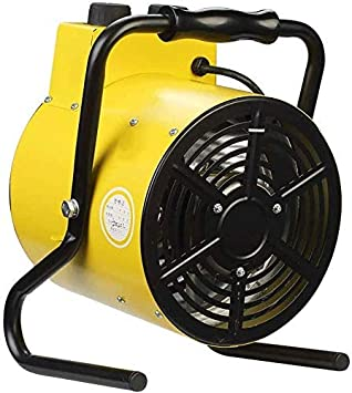 Mutmi AVentilador de calefacción de Espacio Industrial, calefacción eficiente parael Garaje o Taller con oficinay Modo de calefacción del termostato Ajustable Doble, 2000W,2000W