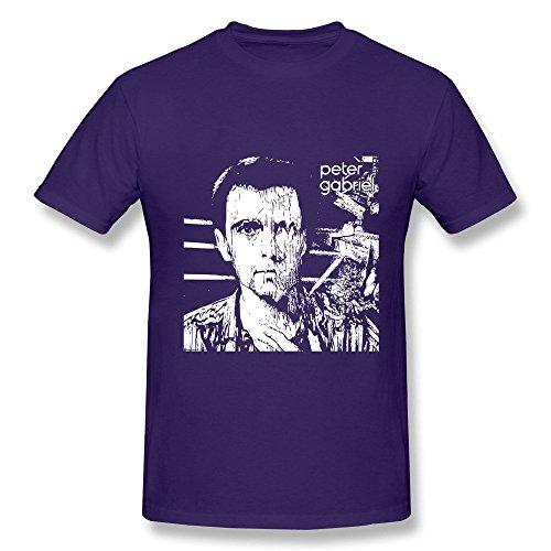 Price comparison product image HUBA Men's Tees Peter Gabriel Purple Size S
