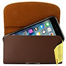 Cubot S308 Case Horizontal Soft PU Leather Side Pouch Holster Case Cover with Belt Clip and Magnetic Closure Flap for mobile phone smartphone Pouch
