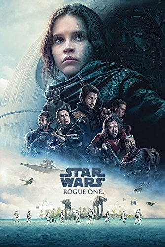 1art1 Star Wars - Rogue One, Cartel De Cine Póster (91 x 61cm)