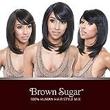 ISIS Human Hair Blend Wig Brown Sugar BS112 (2)