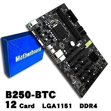 【クリックで詳細表示】<title>Amazon.co.jp: ocamo・マイニングボードb250 Miningマザーボードビデオカードインターフ&#x30